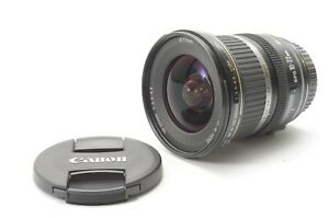 Canon EF-S 10-22mm f/3.5-4.5 USM Wide-Angle Lens - With Front and Rear Lens Caps
