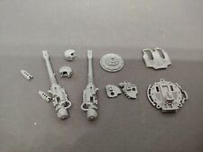 Warhammer Imperial chaos Knight Twin Icarus Auto Cannon bits