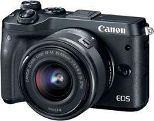 Canon EOS M6 Kit mit 15-45mm schwarz