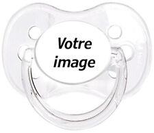 Tétine bébé personnalisée Image de votre choix  - Custom Pacifier BABY