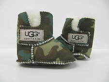 Baby UGG Boots Chaussures Chaussons couleur Filles Garçons 0-6 mois petit vert