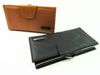 Ladies Womens New Large Premium Quality Leather Purse Credit Card Holder Wallet