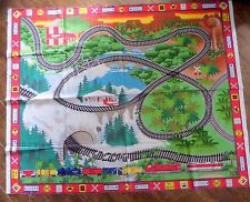 All Aboard Trains Fabric Play Panel for Children by Avlyn 36 x 44 Inches