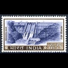 India 1965-75 5R bhakra Presa. SG 519. como Nuevo Nunca con Bisagras. (AR541)