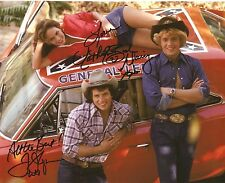 Catherine Bach & Tom Wopat SIGNED 8X10 PHOTO AUTO COA Proof Daisy Duke Luke Duke