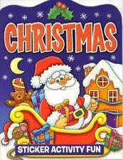 CHRISTMAS FESTIVE STICKER ACTIVITY BOOK