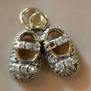 9 ct GOLD second hand booties charm
