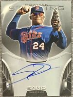 2013 Bowman Sterling Prospects MIGUEL SANO Autograph Rookie #BSAP-MS