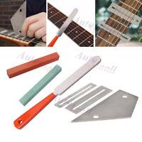 Guitar Luthier Tool Kit File Fret Crowning Rocker Fingerboard Grinding Leveling