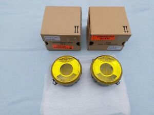 "BMW E30 M3 HELLA YELLOW EURO LOW BEAM LENSES, OEM, BRAND NEW, ""SMILEY´S"""