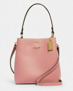 Coach Small Town Bucket Bag Leather Satchel ~NWT~ 1011 Pink