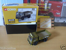 Corgi Tarmac Bedford TK Tipper limited Edition COA # 0399 of only 2400 made