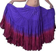 Indiantrends Tribal dance Dip Dye 25 yard skirts Canada