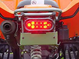 Kawasaki KFX 700 kfx700 v force HEP atv LED Taillight kit
