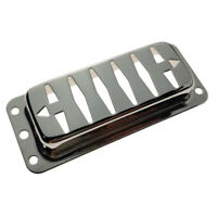1pc Brass Humbucker Pickup Cover for Electric Guitar Parts Exquisite Chrome