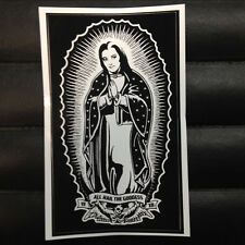 Virgin Lily Munster of Guadalupe Sticker Horror Punk Goth Rockabilly Monsters