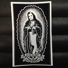 Virgin Lily Munster of Guadalupe Sticker Horror Punk Goth Rockabilly Monster 713