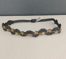 NEW Anthropologie Beaded Embellished Corset Belt Size Medium