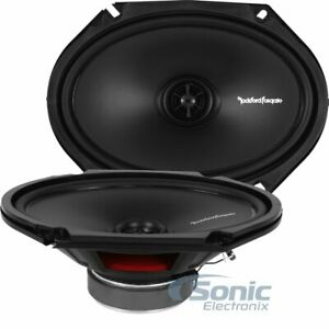 "Rockford Fosgate R168X2 6"" x 8"" 2-Way PRIME Series Coaxial Car Speakers"