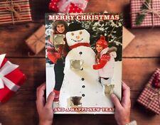 Chocolate Personalizado Calendario de Adviento-cualquier foto + mensaje de Navidad! 24 puertas