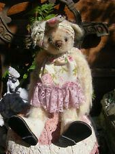 BUNTY,BEAUTIFULL LITTLE GIRL BEAR,ARTIST MADE,COMPANION 4 ANTIQUE VINTAGE BEAR