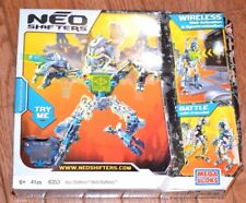 Mega Bloks Neo Shifters 6353 Web Battlers Blue Kit