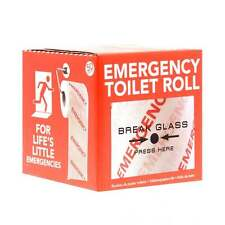 Emergency Novelty Bathroom Toilet Loo Paper Roll Tissue Stocking Filler Gift