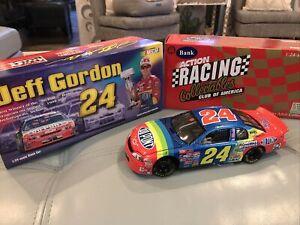 1/24 JEFF GORDON #24 DUPONT WINSTON NO BULL CW/BANK 1998 ACTION NASCAR DIECAST