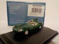Jaguar D Type, Green, Model Cars, Oxford Diecast 1/76