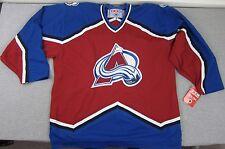 NEW CCM Colorado Avalanche NHL Hockey Jersey XL NWT Canada 550 Vintage