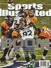 Seattle Seahawks BOOM Super Bowl Champions 48 Sports Illustrated Feb, 10th 2014