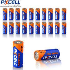 20 PKCELL N Size 1.5V Alkaline Batteries lot Model LR1 LR01 E90 AM5 MN9100