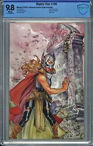 Mighty Thor #705 CBCS 9.8 Siya Oum VIRGIN Dr Jane Foster DEATH as THOR (NOT CGC)