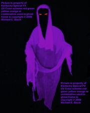 6ft Halloween Hanging Ghost Decoration Purple Black Light Floating Flying Prop