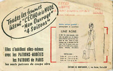 Vintage Une Robe French Sewing Pattern G301 Taille 44