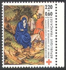France 1987 Red Cross Fund/Medical/Welfare/Heal th/Art/Bible/Donkey 1v (n34716)