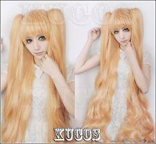 Rozen Maiden Kirakishow +150cm Ponytail Anime Cosplay Costume Wig +Free CAP