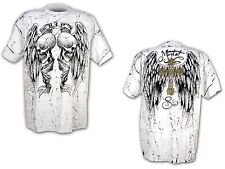 SKULL - Mortal Sin - R.I.P - T-Shirt - Größe Size M