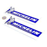 Michelin Stickers Classic Car Motorbike Racing Vinyl Decals 200mm x2