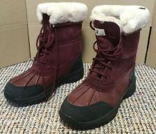 Bearpaw Stowe Suede leather Sheepskin lined waterproof boots snow boots UK
