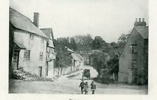 Wigmore animated Village Scene looking towards the Old Castle Inn