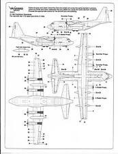 Warbird C-130 Hercules Common Elements, Data, Walkway, Stencil Decals 1/72 017