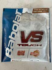 Babolat Natural Gut VS Touch 16 Gauge 1.30mm Tennis String - 12M - 40'