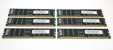 Samsung 6GB (1GBX6) PC3200 DDR400 ECC Registered Server Memory RAM