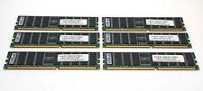 Samsung 6GB (1GBX6) PC3200 DDR400 ECC Registered Server Memory RAM