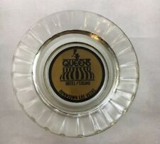 Vintage Queen's Hotel Casino Ashtray B4