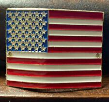 American flag US United States Hiking Staff Stick Medallion NEW