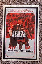 A Fistful of Dollars Lobby Card Movie Poster Clint Eastwood