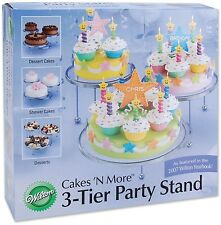Wilton 307-859 3-Tier Cakes and Cupcake Stand