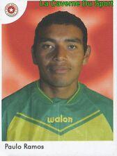 165 PAULO RAMOS SPORT ANCASH HUARAZ PERU STICKER PRIMERA DIV 2006 PANINI